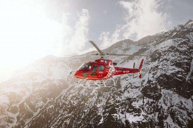 redningshelikopter helikopterture